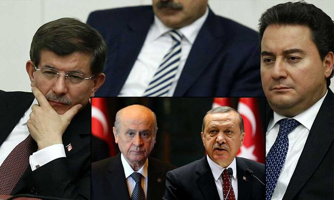 bahçeli erdoğan babacan davutoğlu